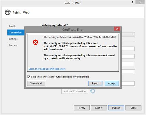 Deploy ASP NET MVC on Amazon EC2 with Web Deploy - Martin Buberl